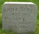 Profile photo:  Emma <I>Scott</I> Adams