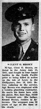Profile photo: TSgt Clent O Brown
