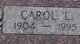 Profile photo:  Carol Lucille <I>Reed</I> Aasgaard
