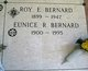 "Profile photo:  Evariste Royden ""Roy"" Bernard"