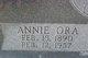 Profile photo:  Annie Ora <I>Rogers</I> Bardwell