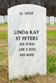 Profile photo:  Linda Kay <I>Rose</I> St. Peters