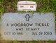 "Profile photo:  B Woodrow ""Woody"" Tickle"