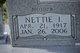 Nettie Ivalee <I>Hurst</I> Acuff