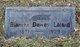 Profile photo:  Blanche <I>Dewey</I> Leland