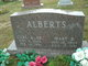 Profile photo:  Mary E. <I>Anderson</I> Alberts