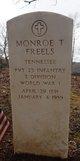 """Monroe Turner """"Roe"""" Freels"""