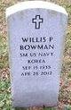 Willis Parks Bowman