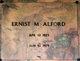 Profile photo:  Ernist M. Alford
