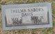 Thelma L <I>Nabors</I> Davis