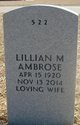 Profile photo:  Lillian May <I>Kessler</I> Ambrose