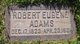 Profile photo:  Robert Eugene Adams