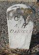 Profile photo:  A. H. Daniels