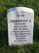 Dorothy S Frank