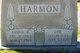 Fannie Adaline <I>Ratliff</I> Harmon