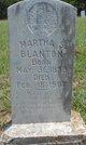 Martha S Blanton