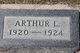 Profile photo:  Arthur L Sherwood