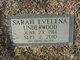 "Profile photo:  Sarah Evelena ""Lena"" <I>Tyner</I> Diamond"