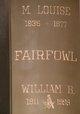 M. Louise Fairfowl