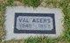 "Robert Valentine ""Val"" Agers"