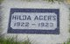 Hilda Dorothea Agers