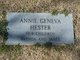 """Annie Geneva O """"Flower"""" Hester"""