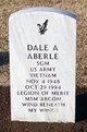 Profile photo: SGM Dale Anthony Aberle