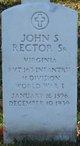 Profile photo:  John Sinclair Rector, Sr.
