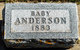 Profile photo:  Baby Anderson