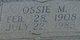 Ossie Mae <I>Parish</I> Brookshire