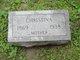 Christina <I>Merz</I> Johnson