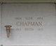 Rhoda Frances <I>Morris</I> Chapman