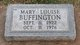 Mary Louise <I>Smith</I> Buffington