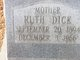 Ruth Virginia Dick