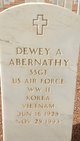 Profile photo:  Dewey A Abernathy