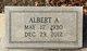 Profile photo:  Albert A. Coley