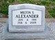 Milton S Alexander