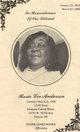 Rosie Lee Anderson