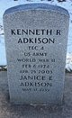 Profile photo:  Kenneth Robert Adkison