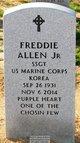 Sgt Freddie Allen, Jr