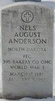 Profile photo:  Nels August Anderson