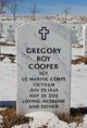 "Profile photo:  Gregory R. ""Greg"" Cooper"