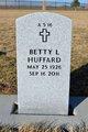 Profile photo:  Betty Lou Huffard