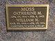 Profile photo: Mrs Catherine M. <I>Orr</I> Moss