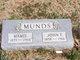 """Mary Slenda """"Mamie"""" <I>McElwain</I> Munds"""