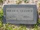 Profile photo:  Abram Bennett Cranmer