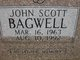 Profile photo:  John Scott Bagwell
