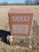 Jane Gertrude <I>Mosher</I> Carr