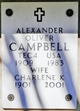 Profile photo:  Alexander Oliver Campbell