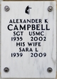 Profile photo:  Alexander K Campbell